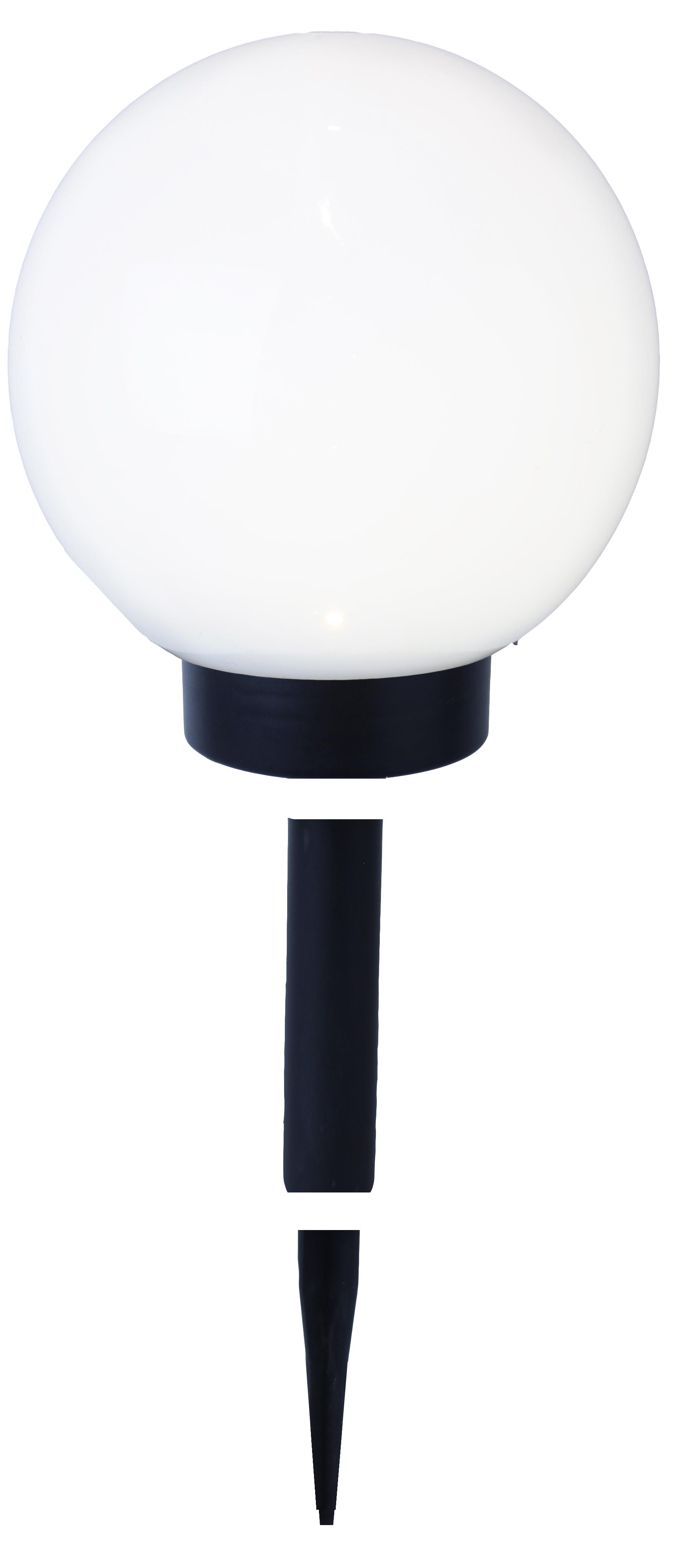led solar kugel wei ca 20 cm durchmesser 477 77. Black Bedroom Furniture Sets. Home Design Ideas