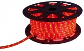 LED-Lichtschlauch rot, Rolle ca. 45 Meter